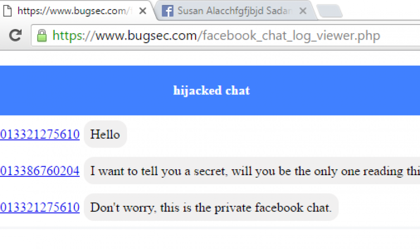 Critical Issue Opened Private Chats of Facebook Messenger Users Up to Attackers