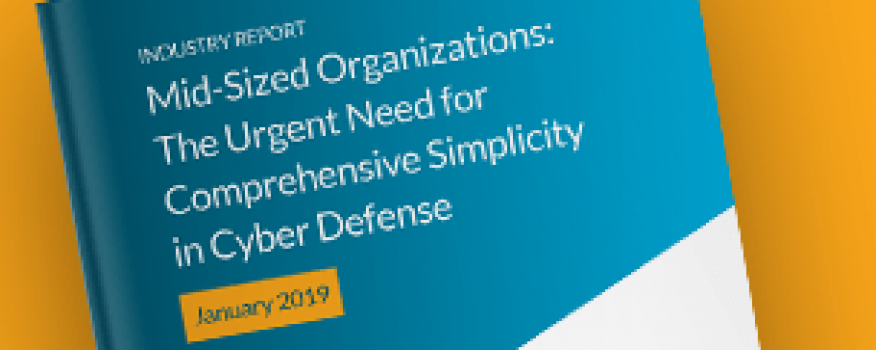 Downloads: 2019 Report – Need for Comprehensive Simplicity in Cyber Defense